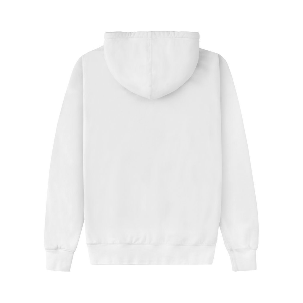 "JD. LORIEUX ""TRIFFIE"" TWO HOODIE WHITE"
