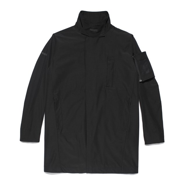 LONG JACKET BRUSSEL BLACK