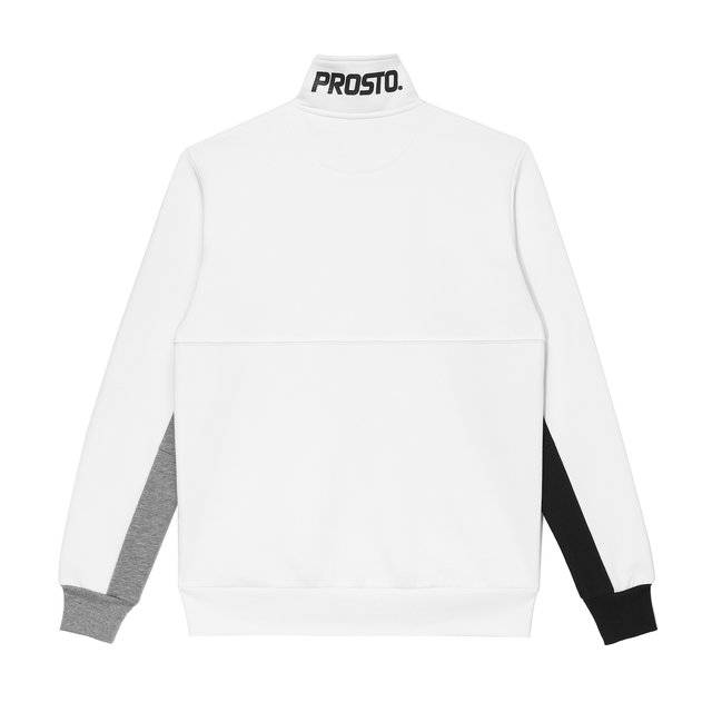 CREWNECK COLLAR WHITE