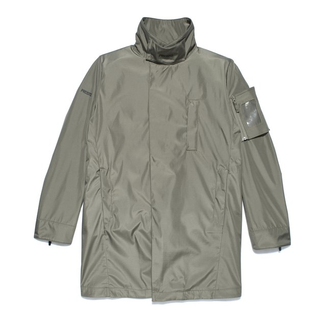 LONG JACKET BRUSSEL KHAKI