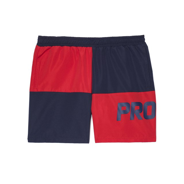 SHORTS CHES RED/DARK BLUE