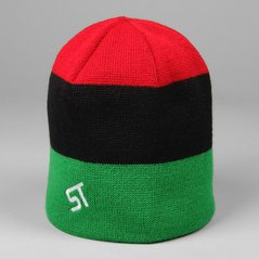 ST WINTER CAP TALLY BLACK