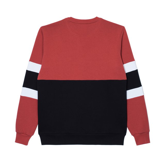 CREWNECK ZENTI BORDO/BLACK