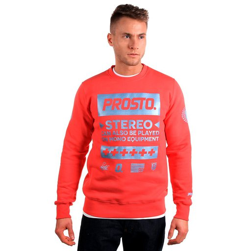 KL SWEATSHIRT EPIC TIMES RUBY RED