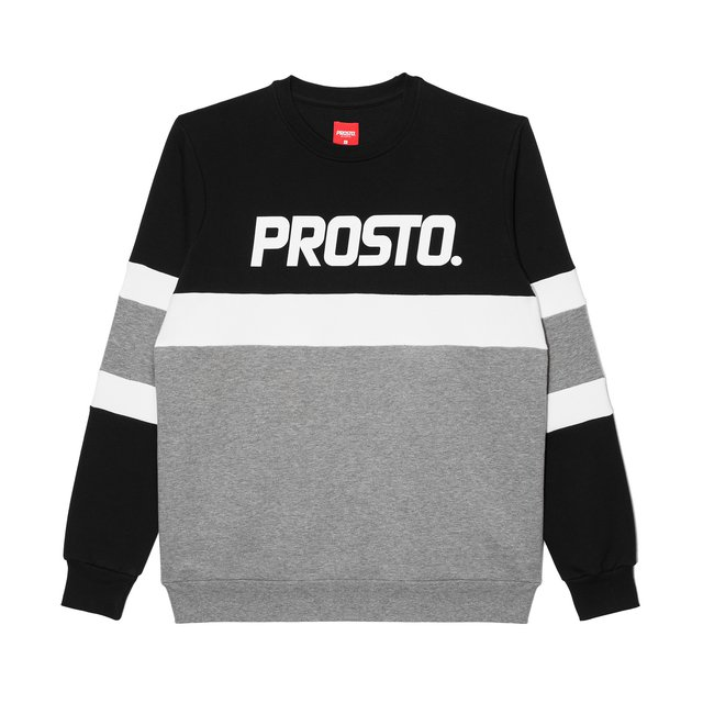 CREWNECK ZENTI BLACK/GREY