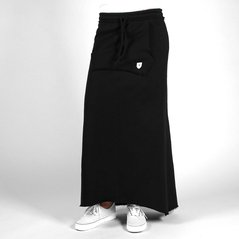 F.EL SKIRT LONG BLACK