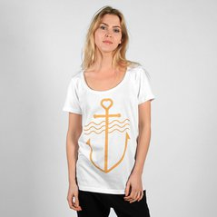 F.EL TEE ANCHOR WHITE