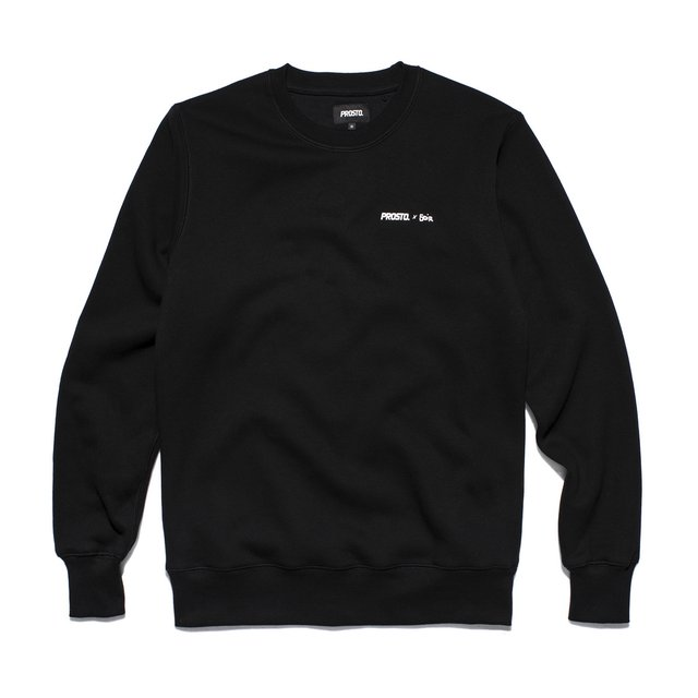WARSAW SWEATSHIRT BLACK