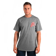 ST TSHIRT UNDERSCORE MEDIUM HEATHER GREY