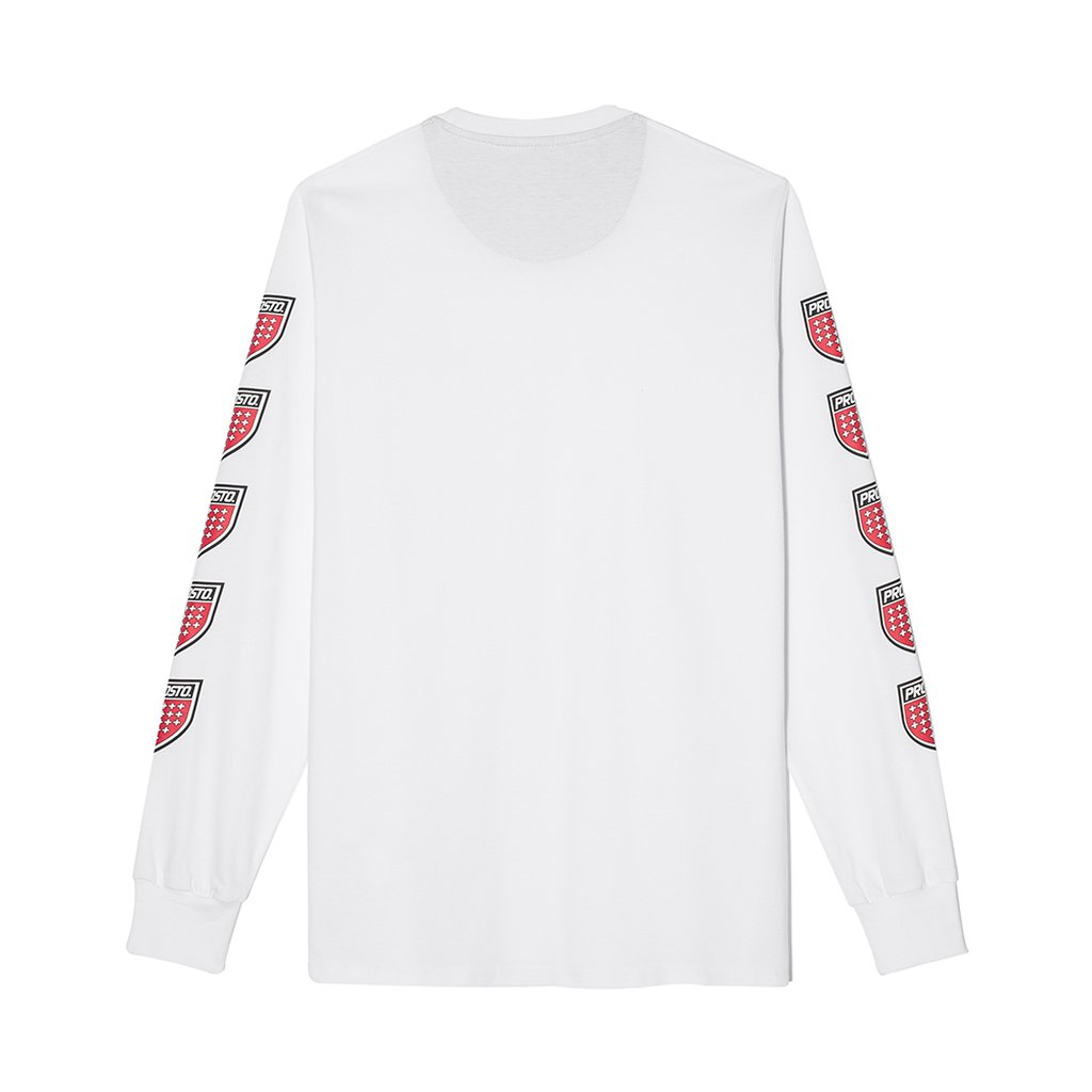 LONGSLEEVE QUADRUPLE WHITE