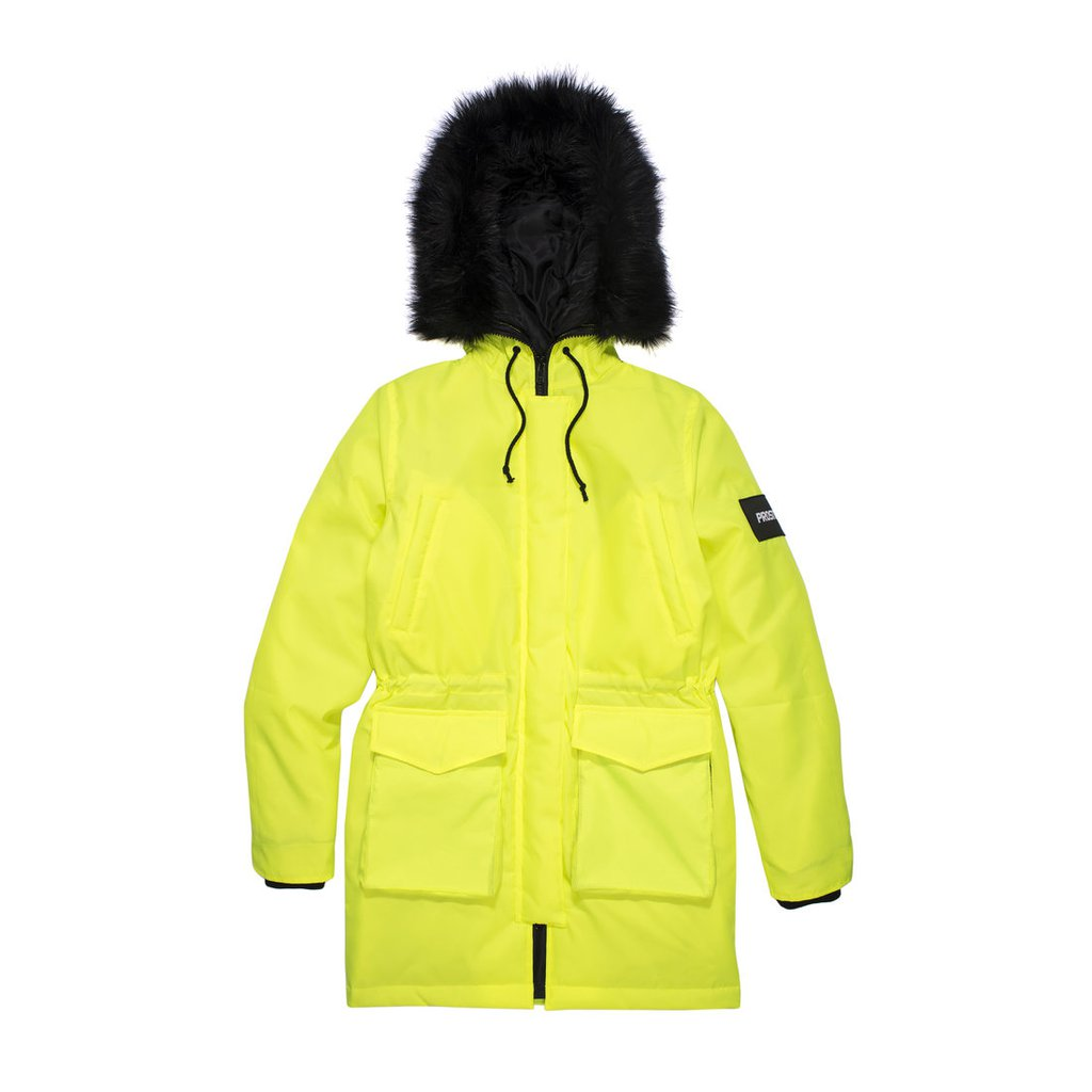 FUR NEON YELLOW