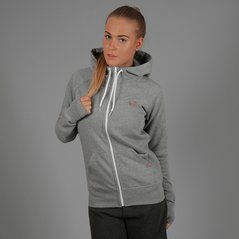 F.ST ZIP HOODIE HIGH MEDIUM HEATHER GREY