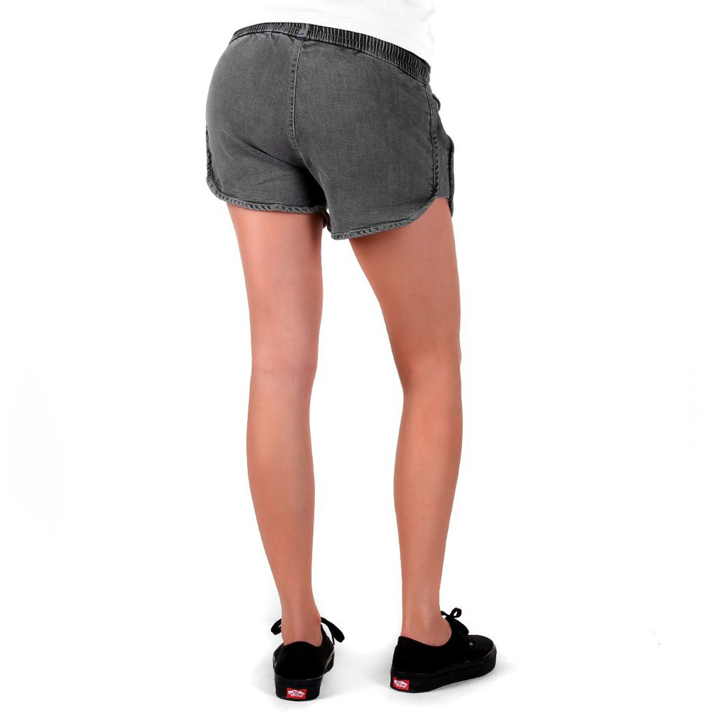 SHORTS WASHED GREY