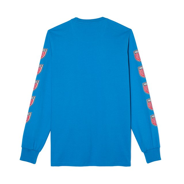LONGSLEEVE QUADRUPLE BLUE