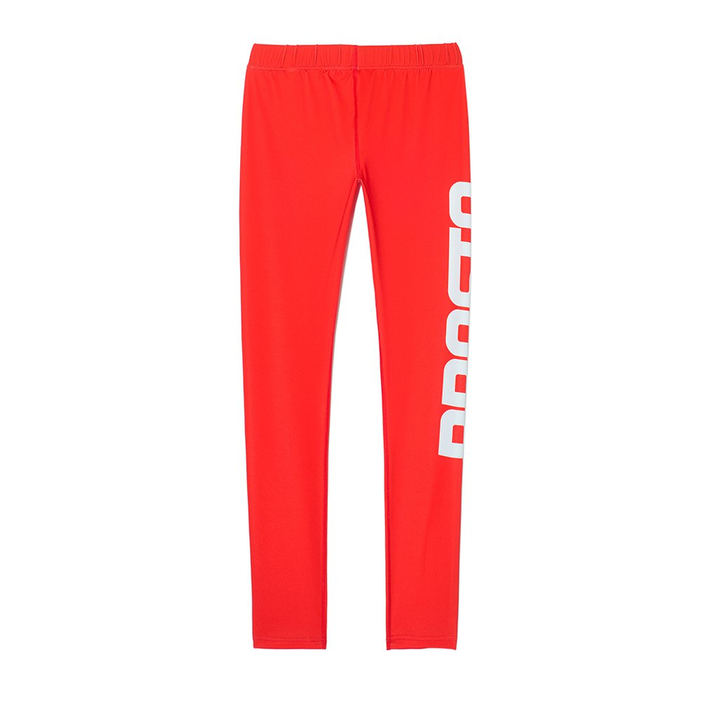 LEGGINS PROPS RED