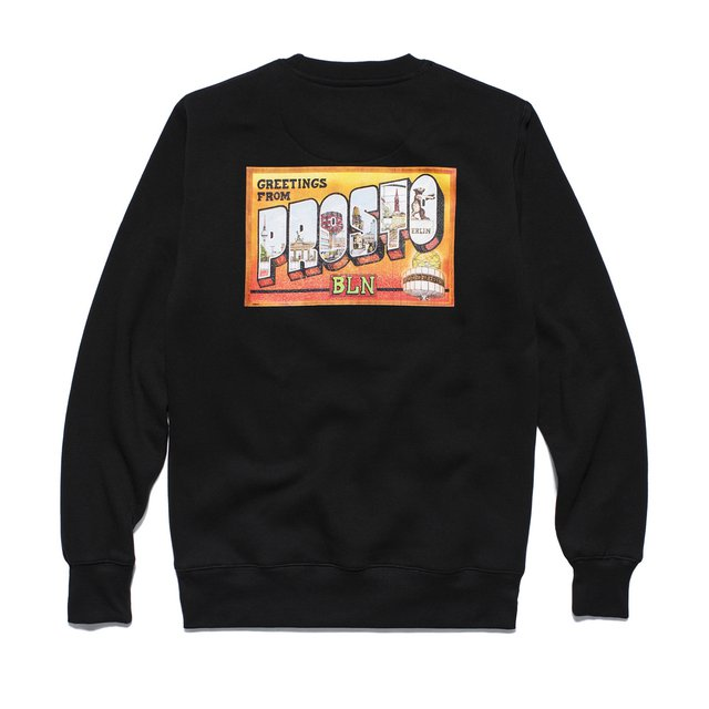 BERLIN SWEATSHIRT BLACK