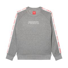 CREWNECK SMOOTH GREY