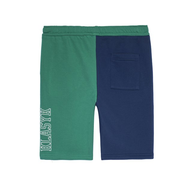 SHORTS SHOT DARK BLUE/DARK GREEN