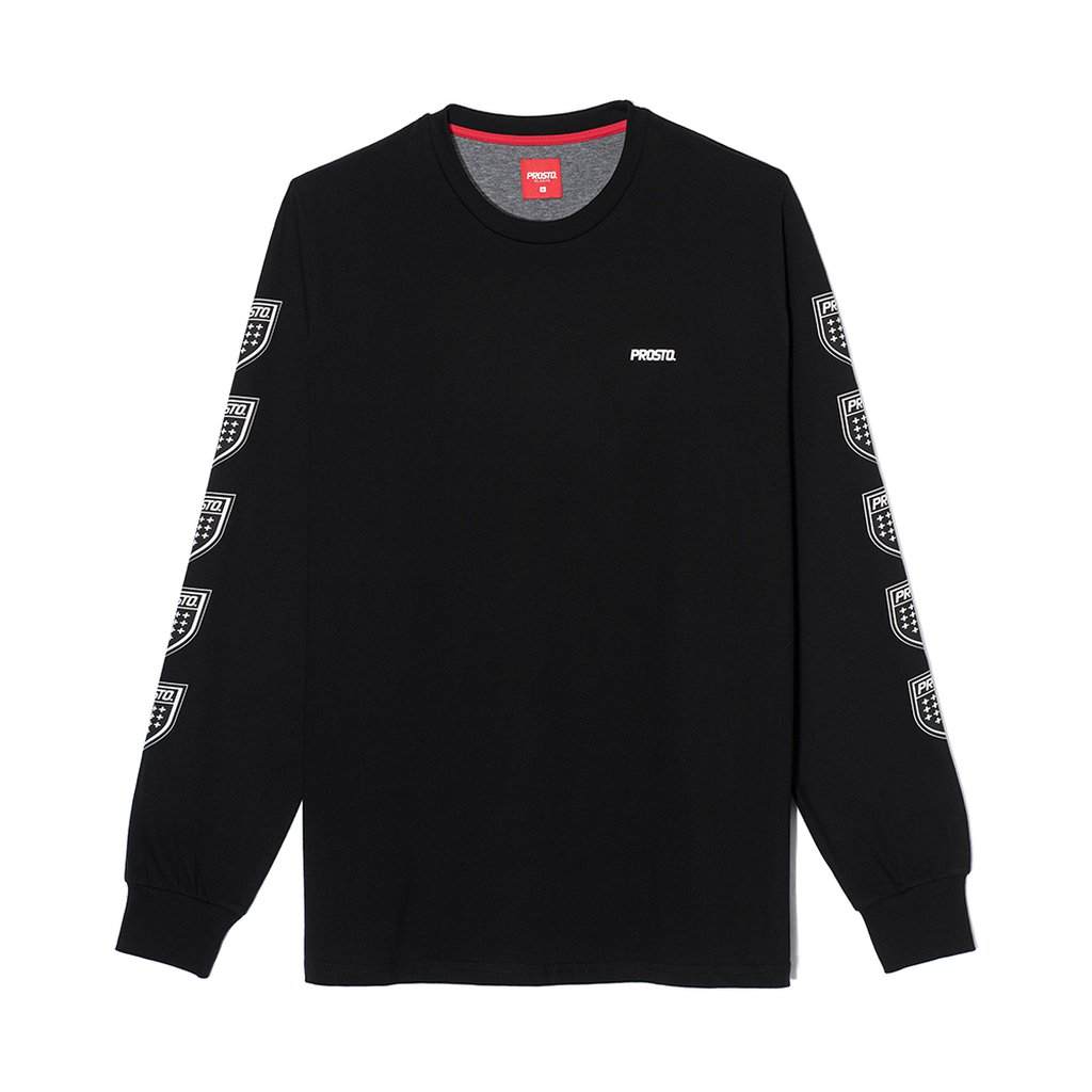 LONGSLEEVE QUADRUPLE BLACK