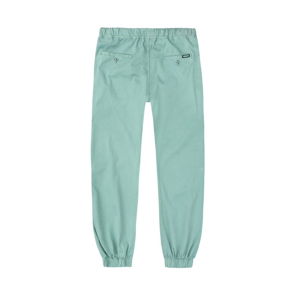 CHINO JOGGER ACID GREEN