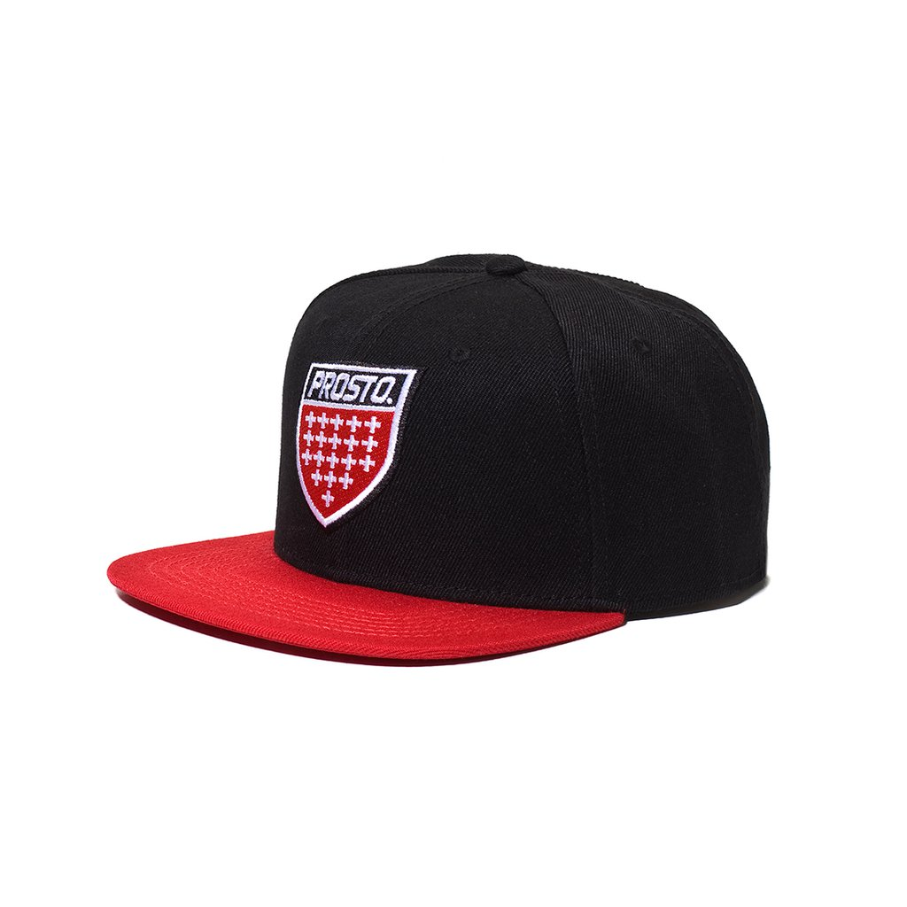 SNAPBACK SHIELD RED