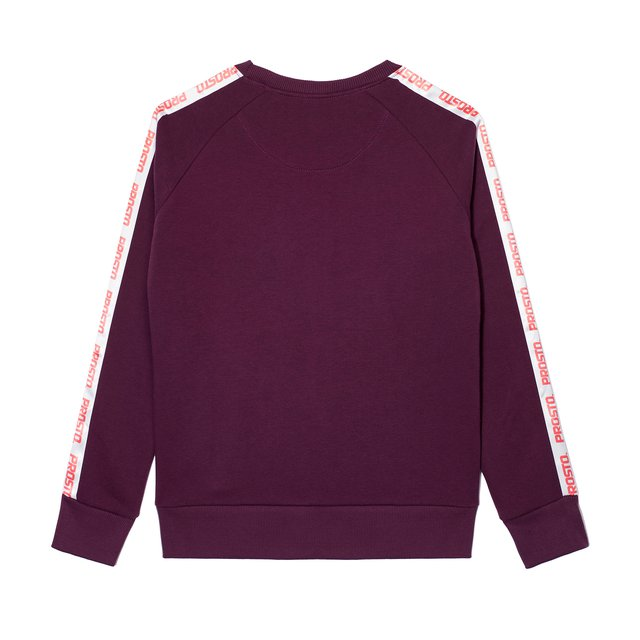 CREWNECK SMOOTH VIOLET