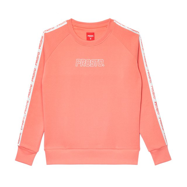CREWNECK SMOOTH LIGHT PINK