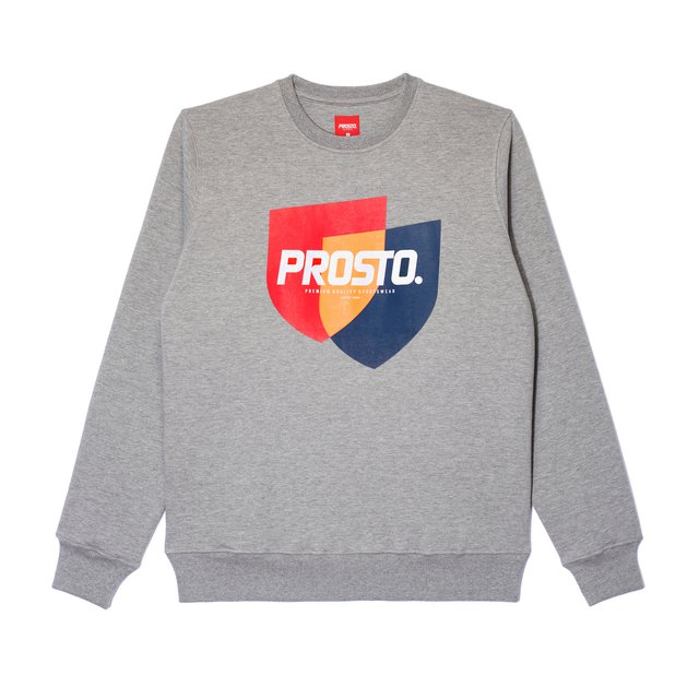 CREWNECK MERG GREY