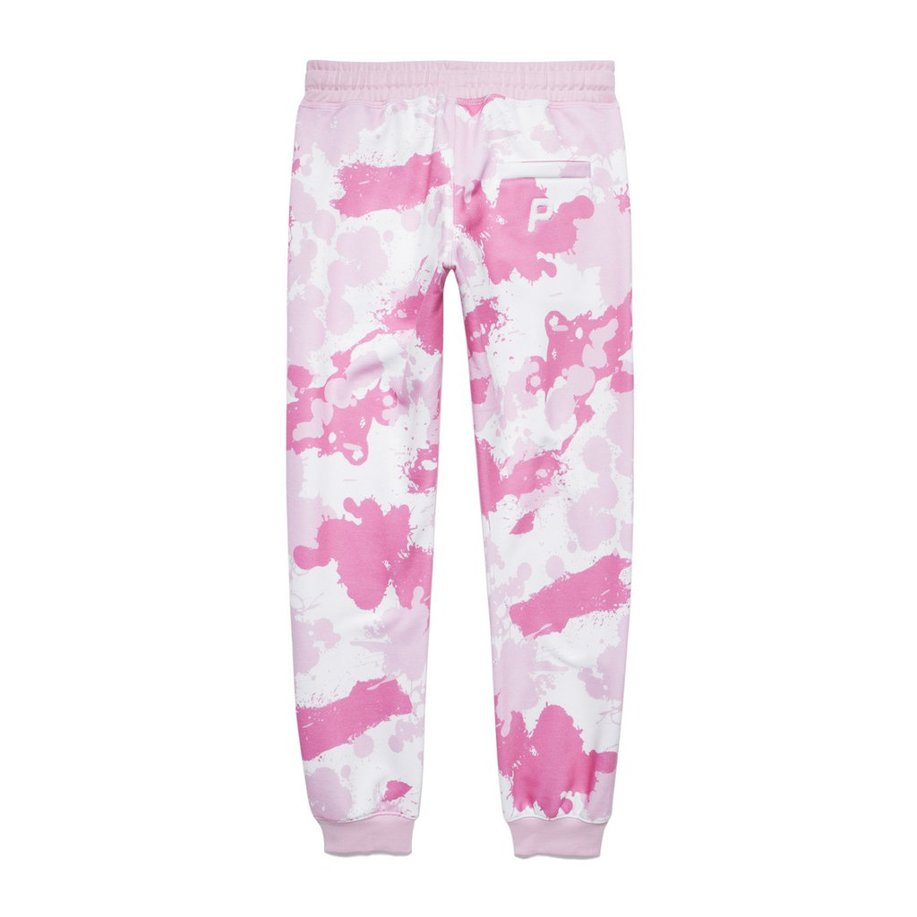 SWEATPANTS CAMO PINK