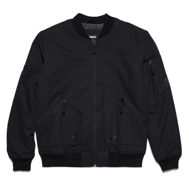 BOMBER JACKET HALNY BLACK