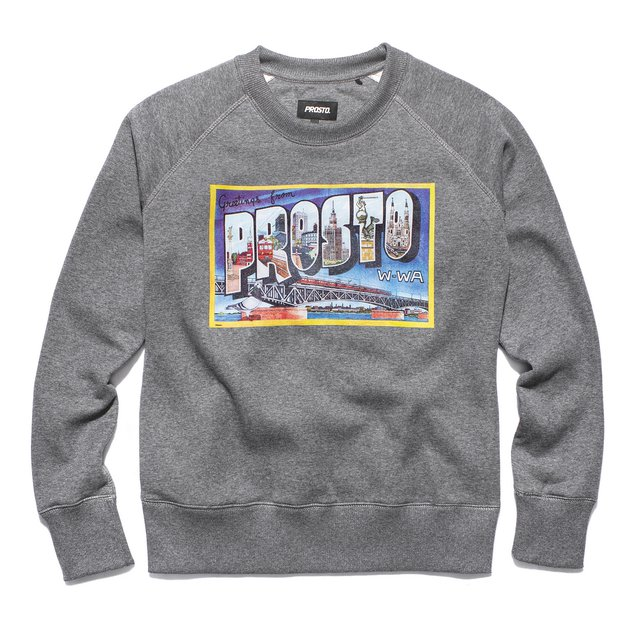 WARSAW SWEATSHIRT GRAY