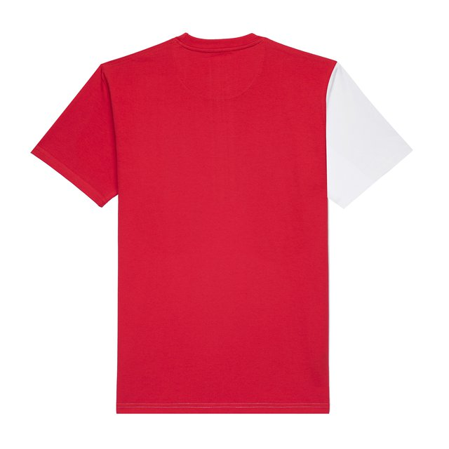 T-SHIRT CIAH WHITE/RED