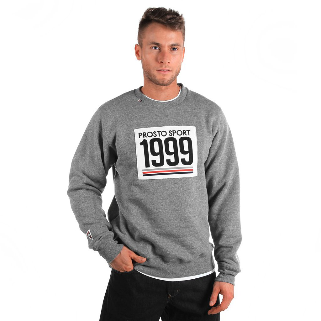 SWEATSHIRT STARTER MEDIUM HEATHER GREY