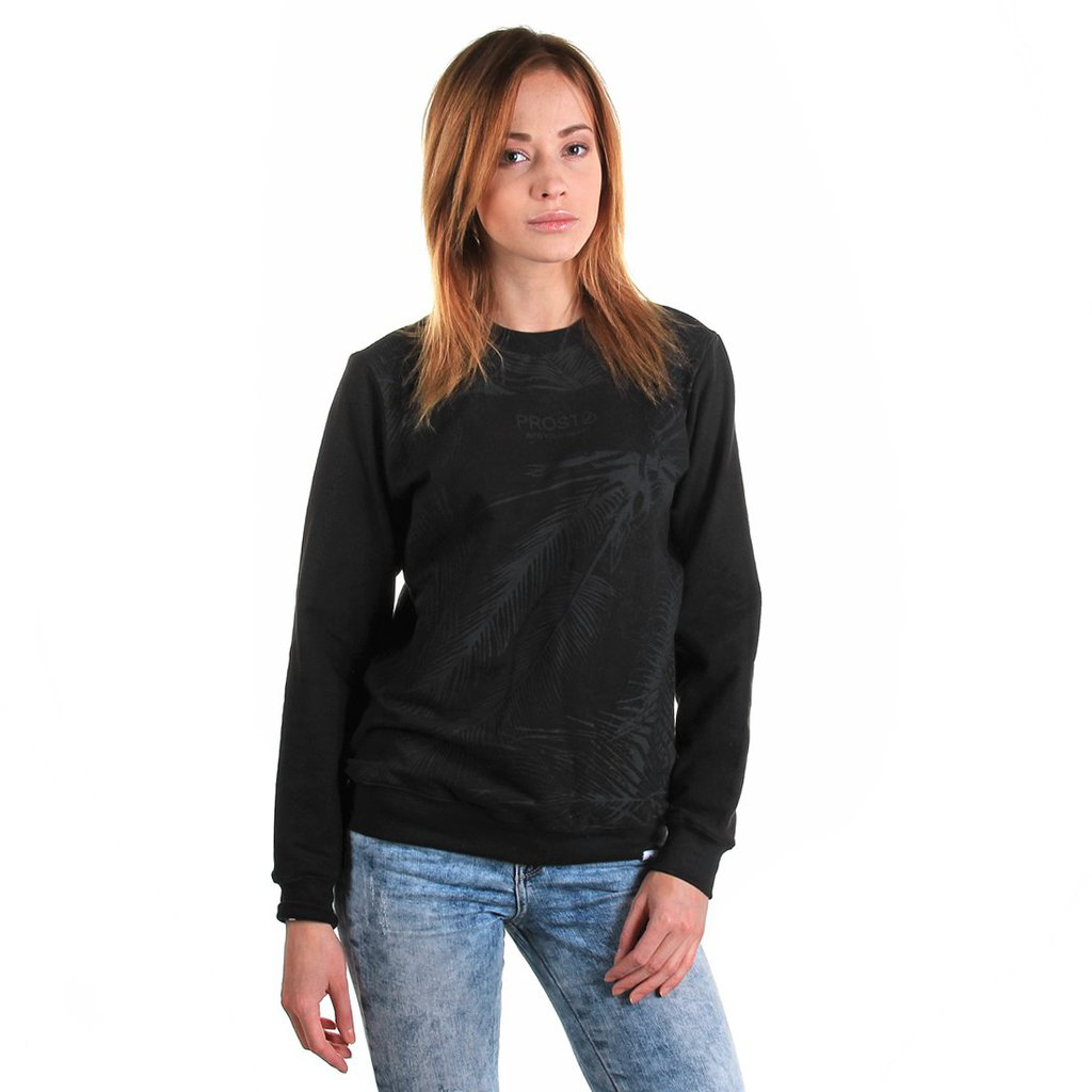 SWEATSHIRT PALMS BLACK