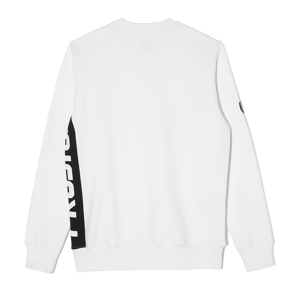 SWEATSHIRT SIDE P WHITE