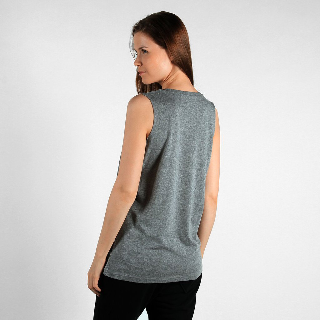 TANK MERMAID MEDIUM HEATHER GREY