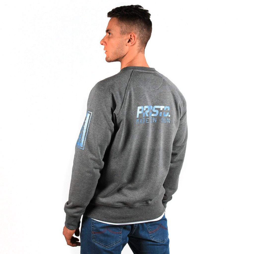 SWEATSHIRT SUN MEDIUM HEATHER GREY