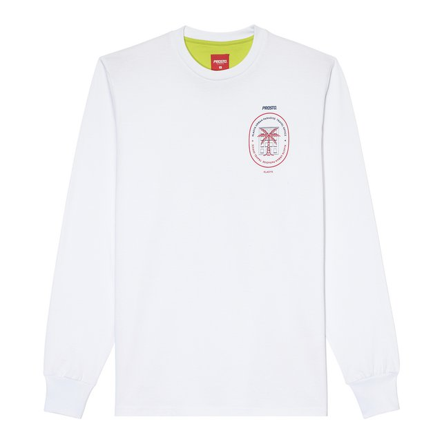 LONGSLEEVE TRAVEL WHITE