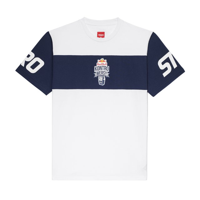 T-SHIRT RBxKL WHITE/NAVY