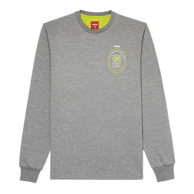 LONGSLEEVE TRAVEL CONCRETE GREY