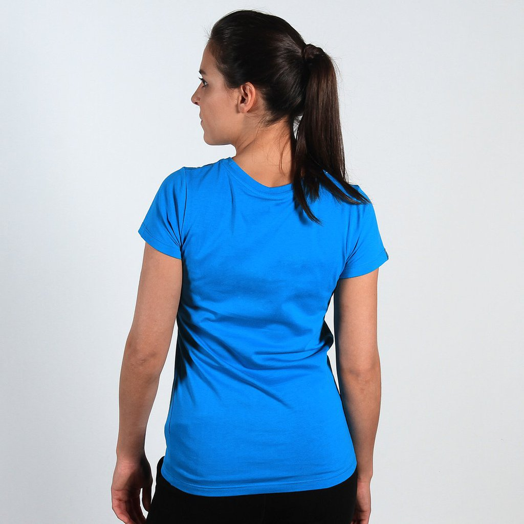 TEE SQUARE BLUE