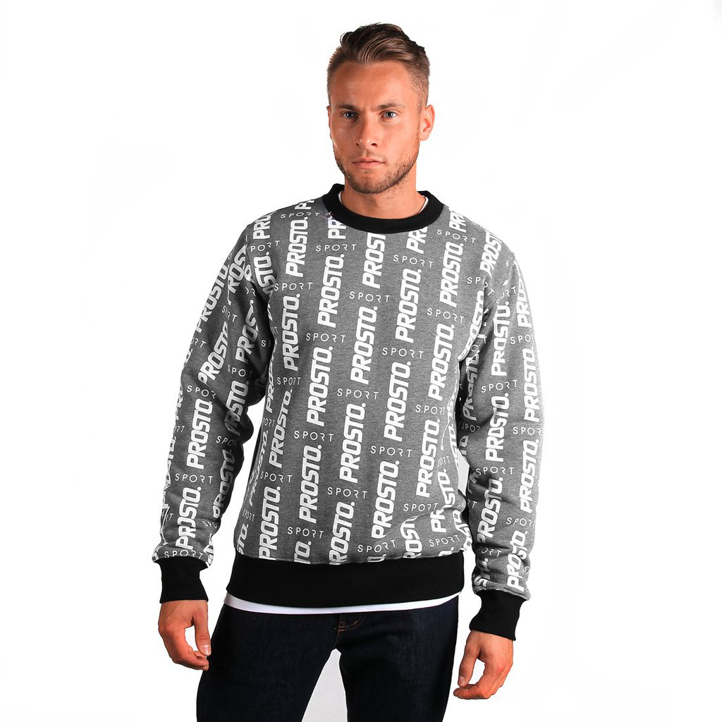 SWEATSHIRT MULTIPLY MEDIUM HEATHER GREY