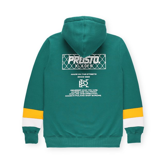 HOODIE BACKSEN DARK GREEN