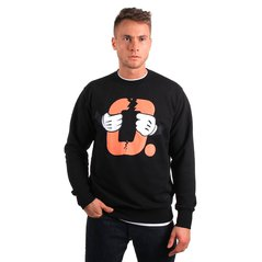 KL SWEATSHIRT DISCONTINUED BLACK