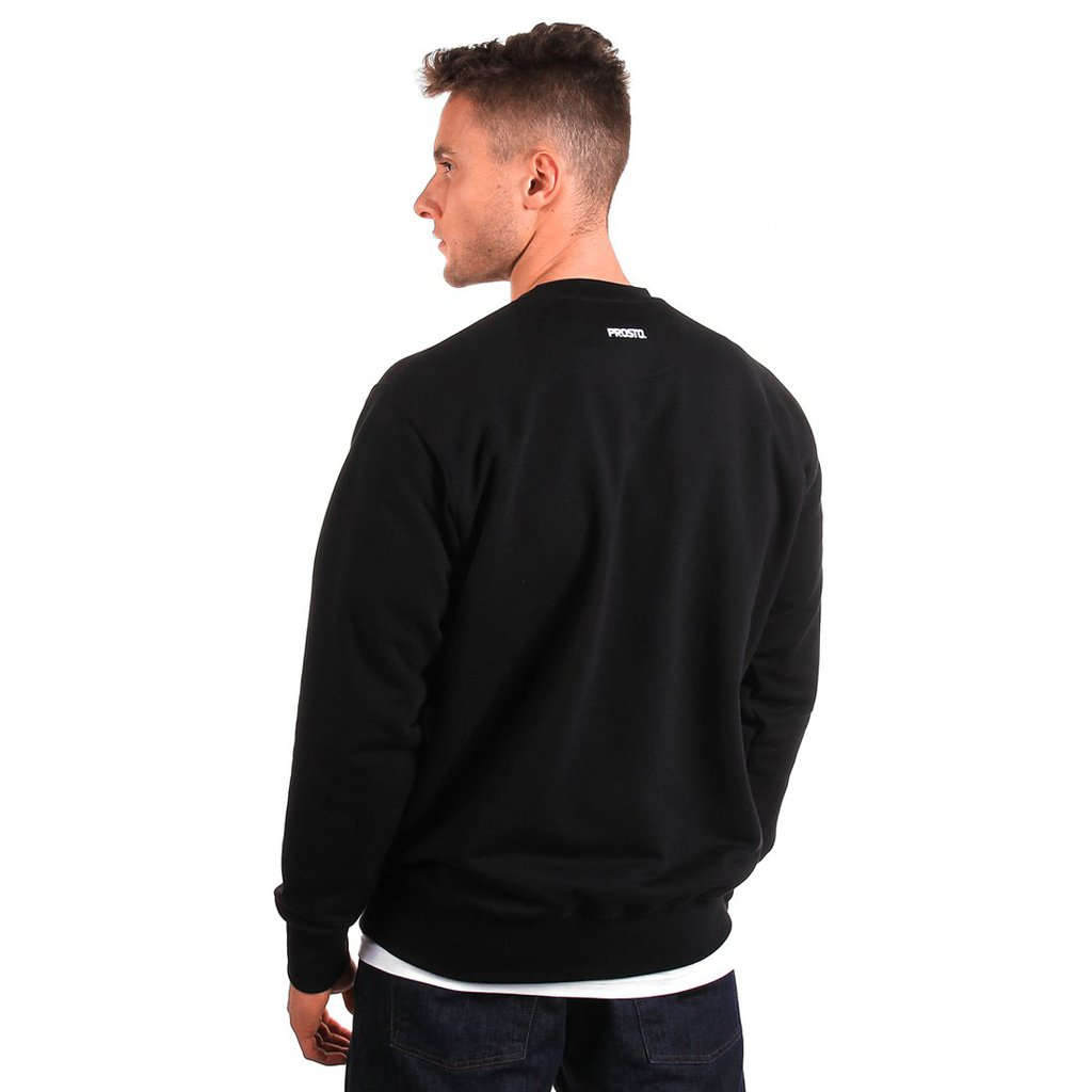 SWEATSHIRT DISCONTINUED BLACK
