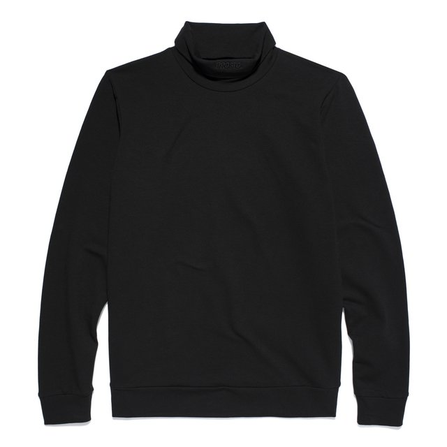 POLO NECK MILANO BLACK