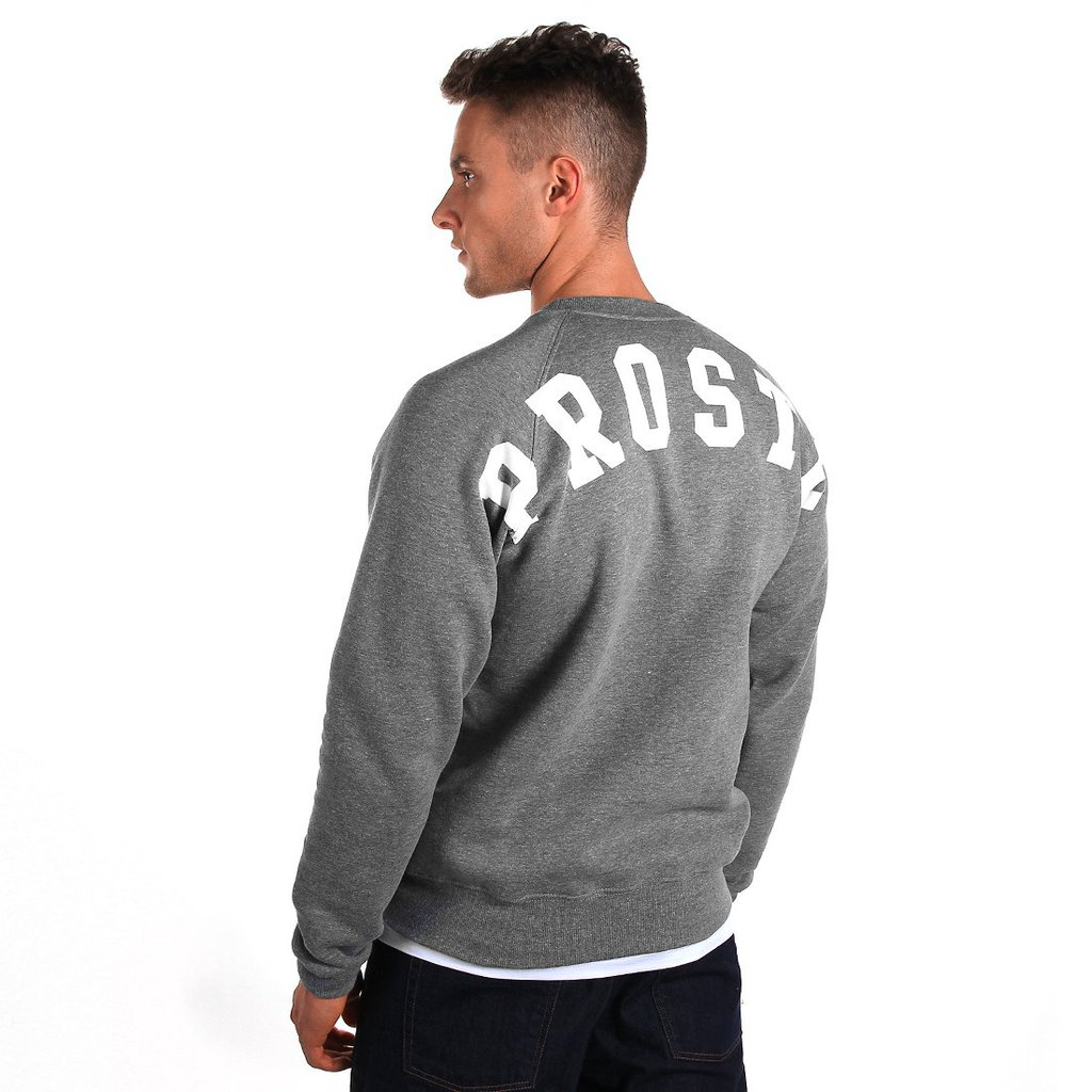 SWEATSHIRT BACKYARD MEDIUM HEATHER GREY