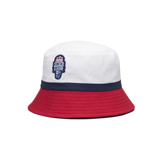 BUCKETHAT RBxKL WHITE/NAVY/RED