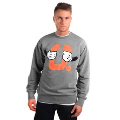 KL SWEATSHIRT DISCONTINUED MEDIUM HEATHER GREY