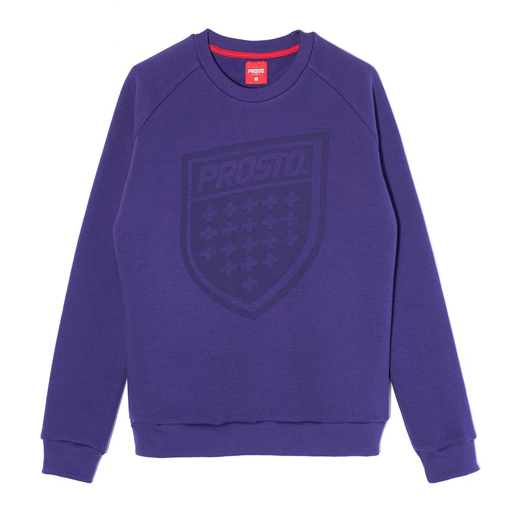 SWEATSHIRT SHIELD VIOLET
